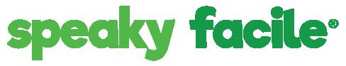 testo speaky facile parte del logo